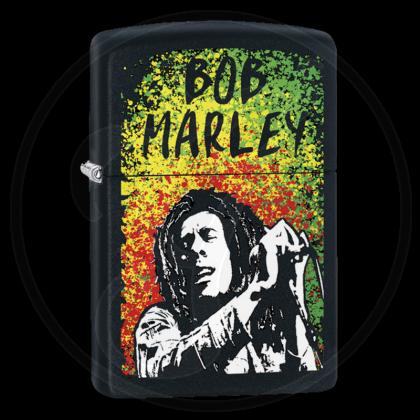 Zippo-Feuerzeug - Bob Marley - optional mit individueller Gravur