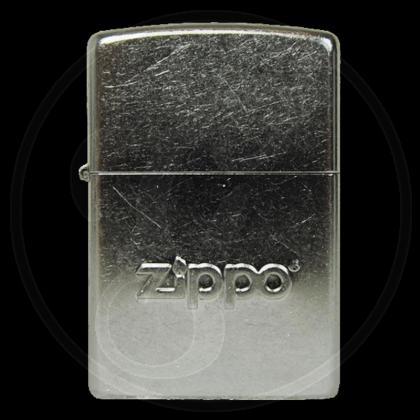 Zippo-Feuerzeug - Logo Stamp - Optional mit Schachtelgravur