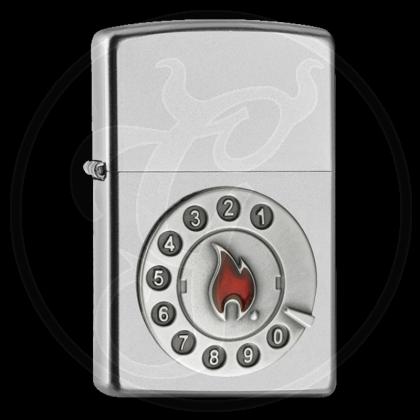 Zippo-Feuerzeug - Emblem Calling - Optional mit Schachtelgravur