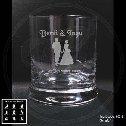 Sie suchen ein individuelles Whiskeyglas zur Hochzeit? - Gravurhölle.de