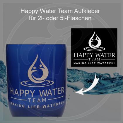 Folien-Aufkleber Deluxe Happy Water Team