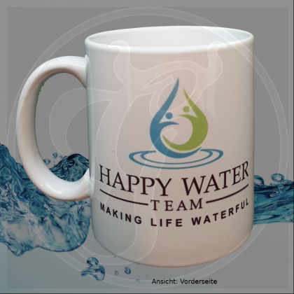 Tasse Happy Water Team - Change your water - Change your life