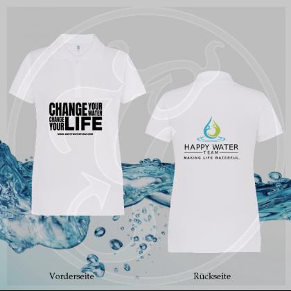 Polo-Shirt Damen - Happy Water Team