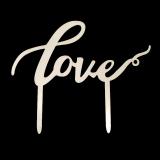 Caketopper - Love Schriftzug