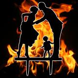 Caketopper - Liebespaar mit Kind