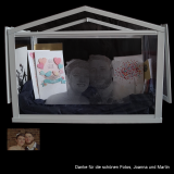 Kartenbox / Geschenkebox (XL) für Hochzeit mit individueller Foto-Gravur
