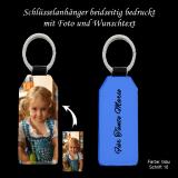 Schlüsselanhänger mit Foto und Widmung beidseitig individuell für Sie bedruckt