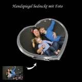 Taschenspiegel klappbar mit Foto - individuell bedruckt