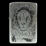 Zippo-Feuerzeug - Lion - optional mit individueller Gravur