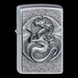 Zippo-Feuerzeug - Emblem Dragon 3D - Anne Stokes - optional mit individueller Gravur