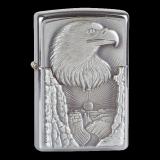 Zippo-Feuerzeug - Emblem Eagle Grand Canyon - optional mit individueller Gravur