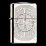 Zippo-Feuerzeug - Compass - optional mit individueller Gravur