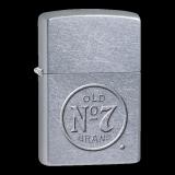 Zippo-Feuerzeug - Jack Daniels No7 Stamp - optional mit individueller Gravur