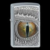 Zippo-Feuerzeug - Emblem Dragon Eye - Hölle 2- Optional mit Schachtelgravur