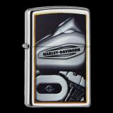 Zippo-Feuerzeug - Harley Davidson - Hölle 11 - optional mit individueller Gravur
