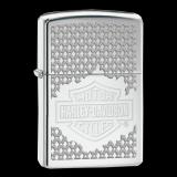 Zippo-Feuerzeug - Harley Davidson - Hölle 9 - optional auch mit individueller Gravur
