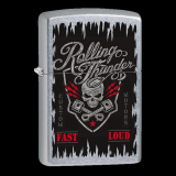 Zippo-Feuerzeug - Rolling Thunder - optional mit individueller Gravur
