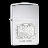 Zippo-Feuerzeug - Emblem Zippo Bradfort, PA - optional mit individueller Gravur