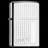 Zippo-Feuerzeug - Checkerboard Zippo - optional mit individueller Gravur
