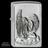 Zippo-Feuerzeug - Emblem Schlafender Engel - optional mit individueller Gravur