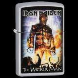 Zippo-Feuerzeug - Iron Maiden - The Wicker Man - optional mit individueller Gravur