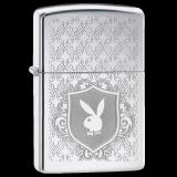 Zippo-Feuerzeug - Playboy Bunny Logo - optional mit individueller Gravur