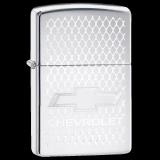 Zippo-Feuerzeug - Chevrolet Logo - optional mit individueller Gravur