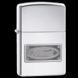Zippo-Feuerzeug - Ford Logo - optional mit individueller Gravur