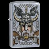 Zippo-Feuerzeug - Vikind Odin - optional mit individueller Gravur