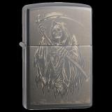 Zippo-Feuerzeug - Reaper - optional mit individueller Gravur