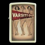 Zippo-Feuerzeug - Varsity Club - optional mit individueller Zippo-Schachtel-Gravur