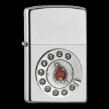 Zippo-Feuerzeug - Emblem Calling - optional mit individueller Gravur