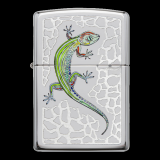 Zippo-Feuerzeug - Gecko - optional mit individueller Gravur