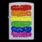 Zippo-Feuerzeug - Rainbow - optional mit individueller Gravur