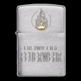 Zippo-Feuerzeug - Freiwillige Feuerwehr - optional mit individueller Gravur