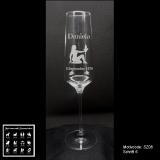 Sektglas - Sternzeichen - mit Motivauswahl und individueller Gravur / Name und Geburtsdatum