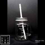 Retroglas Jar - Sailor - mit Motivauswahl und individueller Gravur / Namen und Datum