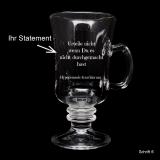 Statement Tee-Glas