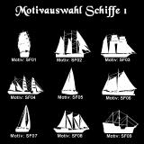 Weizenbierglas - Sailor - mit Motivauswahl und individueller Gravur / Namen und Datum
