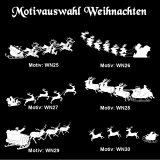 Weihnachtskugel - 8cm - gold matt - mit Motivauswahl und individueller Gravur / Text